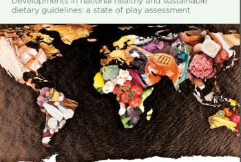 Portada del informe de la FAO