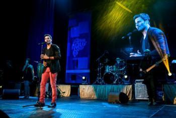 La venta de entradas del concierto de Miami permitió recaudar cerca de 213.000 dólares. En la imagen, Chayanne, uno de los 20 artistas que participaron en el evento. Foto: PNUD