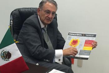 Luis Felipe Puente, coordinador nacional de protección civil de la Secretaría de Gobernación de México. Foto: Cortesía de la Secretaría de Gobernación de México.
