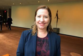 Paula Gaviria, Consejera Presidencial para los Derechos Humanos en Colombia. Foto /Radio ONU