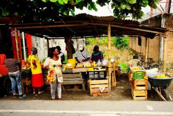 Según una encuentra de nutrición en Colombia, el 43% de sus habitantes afronta inseguridad alimentaria. Foto : CINU Colombia