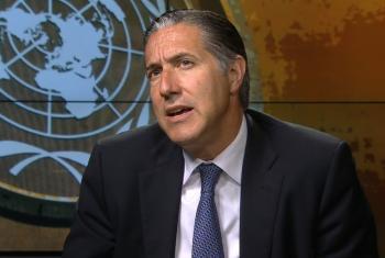 Oscar Fernandez Taranco, Subsecretario General de la ONU de Apoyo a la Consolidación de la Paz. Captura de Video/Radio ONU