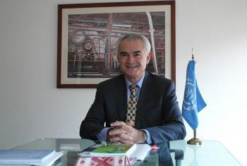 José Manuel Salazar, director regional de la OIT. Foto ONU México