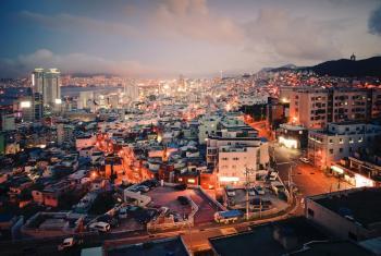 Busan es la ciudad más poblada después de Seúl en Corea, con una población de 3,6 millones de personas. Foto de archivo: ONU/Kibae Park.