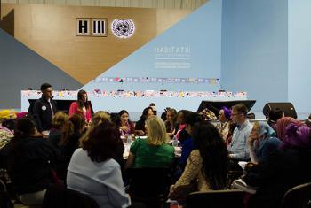 Asamblea de Mujeres de Habitat III en Quito, Ecuador. Foto: Radio ONU/Rocío Franco
