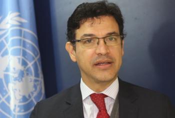 Elkin Velasquez es director regional de ONU Hábitat para América Latina y el Caribe. Foto: CINU Buenos Aires.
