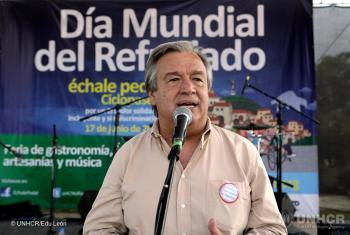 En 2005, fue elegido por la Asamblea General para ser el décimo Alto Comisionado de la Agencia de la ONU para los Refugiados (ACNUR), puesto que ocupó por diez años hasta 2015.