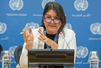 La relatora especial de la ONU sobre el derecho a la alimentación, Hilal Elver. Foto ONU: Cia Pak.