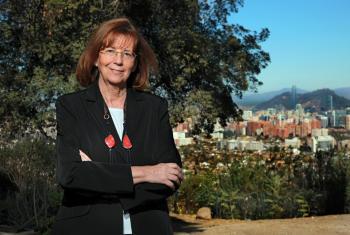 La profesora María Teresa Ruíz, astrónoma chilena, recibió el Premio 2017 de L'Oréal-UNESCO para las mujeres en la ciencia. Foto: cortesía UNESCO.