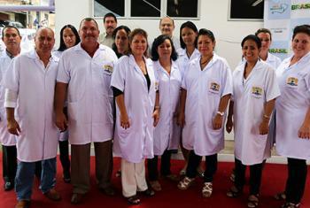 Medicos cubanos en Brasil. Foto OPS.