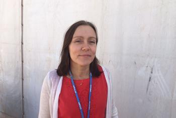 Matilde Mordt, coordinadora del equipo regional de desarrollo sostenible y resiliencia del PNUD en Latinoamérica.Foto: Basma Baghall.