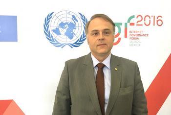Bruno Ramos, Director Regional de la ITU para las Américas, participó en el Foro de Gobernanza de Internet 2016 celebrado en Guadalajara, México. Foto: ONU Noticias / Jorge Miyares