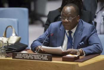 François Lounceny, jefe interino de la Oficina Regional de las Naciones Unidas para África Central (UNOCA), comparece ante el Consejo de Seguridad. Foto: ONU