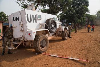 Fuerzas de la MINUSCAFoto archivo ONU: Nektarios Markogiannis