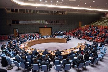El Consejo de Seguridad durante el nforme de las actividades de la Misión de Apoyo de las Naciones Unidas en Libia (UNSMIL). Foto: ONU/Amanda Voisard