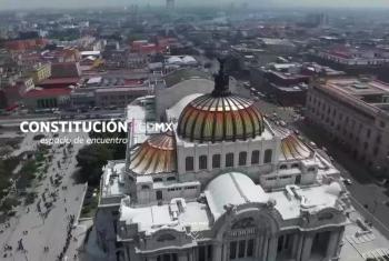 Captura de pantalla del sitio en Internet de la Constitución de la Ciudad de México. El plazo para aprobar la Constitución es el 31 de enero.