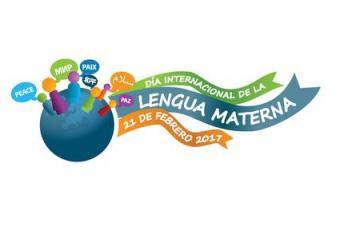 Cartel de la campaña de la UNESCO con motivo del Día Internacional de la Lengua Materna.