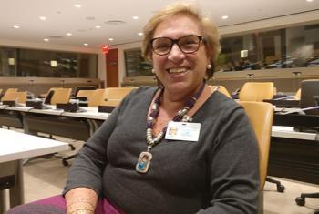 La Ministra de la Mujer y Poblaciones Vulnerables, Ana María Romero-Lozada en la sede Naciones UNidas. Foto: ONU/Jordi Trujols