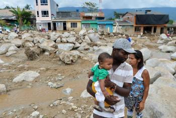 5600 familias fueron registradas como damnificadas tras la avalancha que provocó el desastre en Mocoa, Colombia. Foto: UNICEF