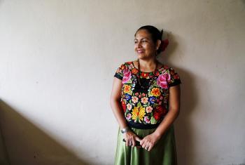 Bettina Cruz Velázquez es defensora de los derechos de la tierra y el territorio de los pueblos indígenas del Istmo de Tehuantepec. Foto: Robin Canul, gentileza de Bettina Cruz.