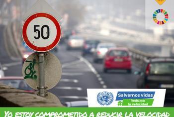 A nivel mundial, un 40% de conductores superan los límites de velocidad de las vías en las que transita. Foto: OPS