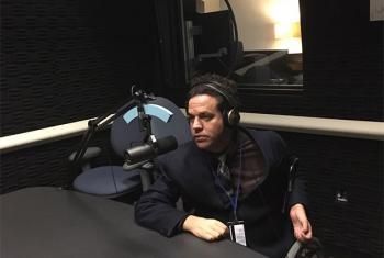 El Presidente del Consejo Nacional de Discapacidad de Colombia, Juan Pablo Salazar Salamanca, durante la entrevista con Noticias ONU.
