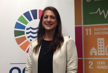 Natalia Vega-Berry, publicista peruana fundadora de The Global Brain. Foto: Noticias ONU