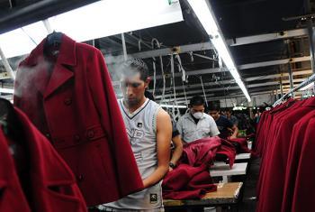 Una fábrica en Chimaltenango, Guatemala. Foto: Maria Fleischmann/Banco Mundial.