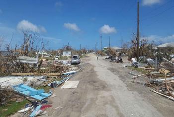 Daños del huracán Irma en Antigua y Barbuda. Foto: UNDAC / Silva Lauffer