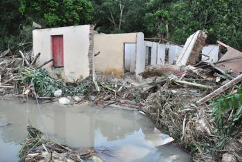 Desperfectos causados por el huracán Irma en Cuba. Foto: Cortesía del Periódico Venceremos