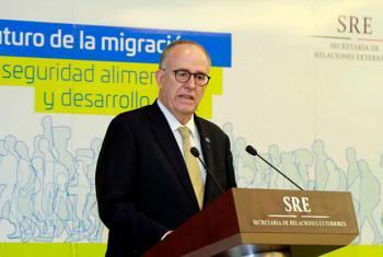 El subdirector general y representante regional para América Latina y el Caribe de la FAO, Julio Berdegué. Foto: FAO
