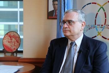 El director de la Oficina para la Cooperación Sur-Sur de la ONU, Jorge Chediek. Foto: Noticias ONU