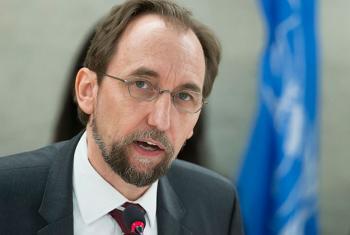 El Alto Comisionado para los derechos humanos, Zeid Ra'ad Al Hussein.