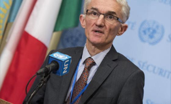 Mark Lowcock, Secrétaire général adjoint aux affaires humanitaires