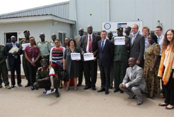 Leila Zerrougui au Soudan du Sud-