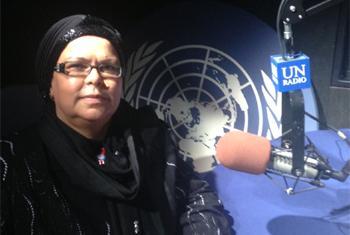 Moungia al-Souwahi, Professeur en études coraniques de l'Université Zeytuna. (Photo : ONU)