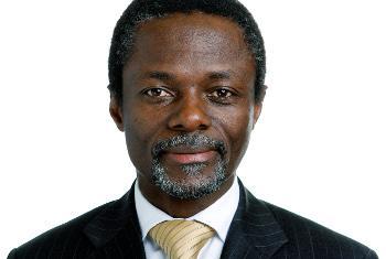 Parfait Onanga Anyanga, Représentant spécial du Secrétaire général en République centraficaine (Photo ONU)
