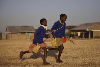 photo du film ''sur le chemin de l'école. Utilisation accordée par le Réalisateur Pascal Plisson