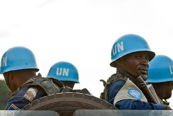 Casques Bleus déployés en Centrafrique. Photo/MINUSCA