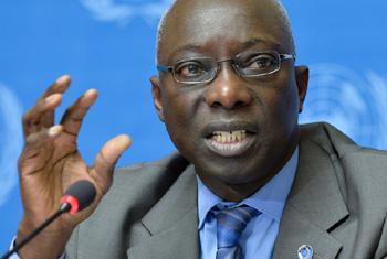 Adama Dieng, Conseiller spécial du Secrétaire général pour la prévention du génocide.Photo ONU/Jean-Marc Ferré