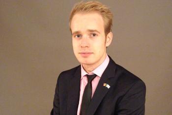 Jérôme Lechien, Délégué de la jeunesse de la Belgique.