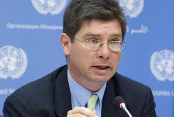 Le rapporteur special des droits des migrants, Francois Crepeau. Photo ONU/ JC McIlwaine