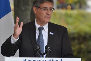 Guillaume DENOIX de SAINT MARC, directeur général de l'Association française des Victimes du Terrorisme-