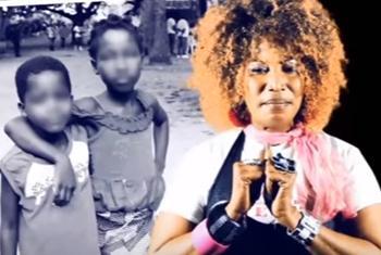 Akissi Delta se prononce contre le travail des enfants.