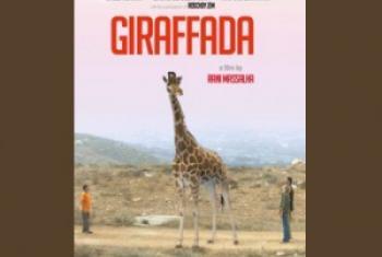 "Affiche en langue anglaise du film ""Girafada"" de Rani Massalha"