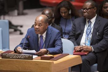 Mohamed Ibn Chambas, Représentant spécial du Secrétaire général de l'ONU pour l'Afrique de l'Ouest. (Crédit: Photo ONU/Manuel Elias)