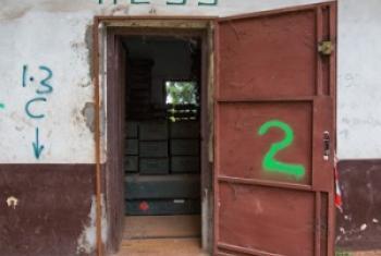 Des explosifs entreposés au Camp de Roux en République centrafricaine (archives)