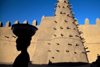 La mosquée de Djingareyber à Tombouctou (2013)