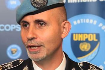 Luis Carrilho, Commissaire de police de la MINUSCA.