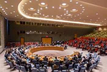 Le Conseil de sécurité. (